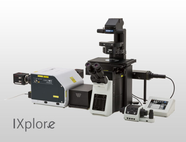 میکروسکوپ IXplore Spin