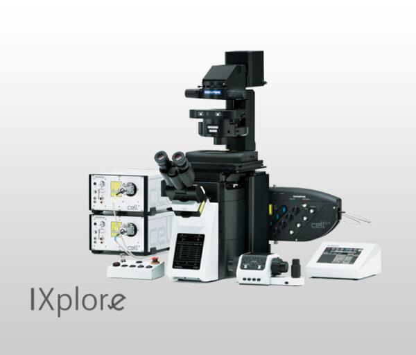 میکروسکوپ IXplore TIRF