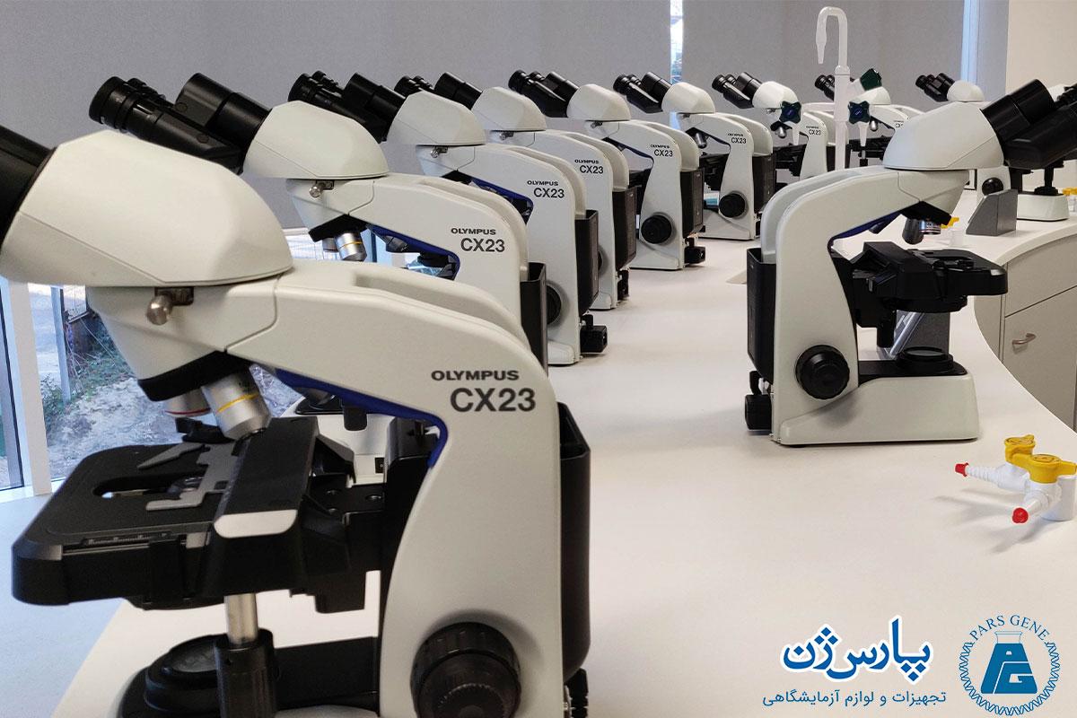 تاریخچه میکروسکوپ و معرفی میکروسکوپهای المپیوس